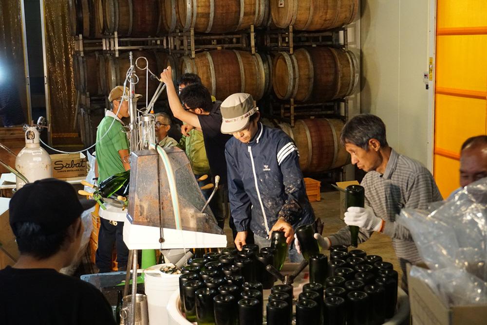 ココ・ファーム・ワナリー ワイン製造