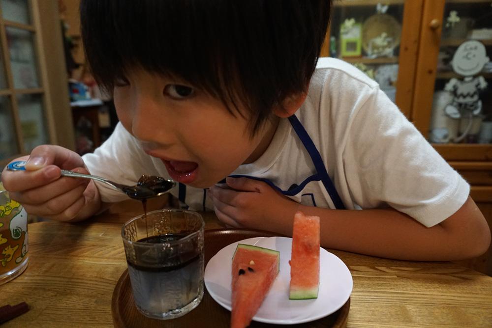 黒蜜寒天 レシピ 実食!! 栃木のしょく