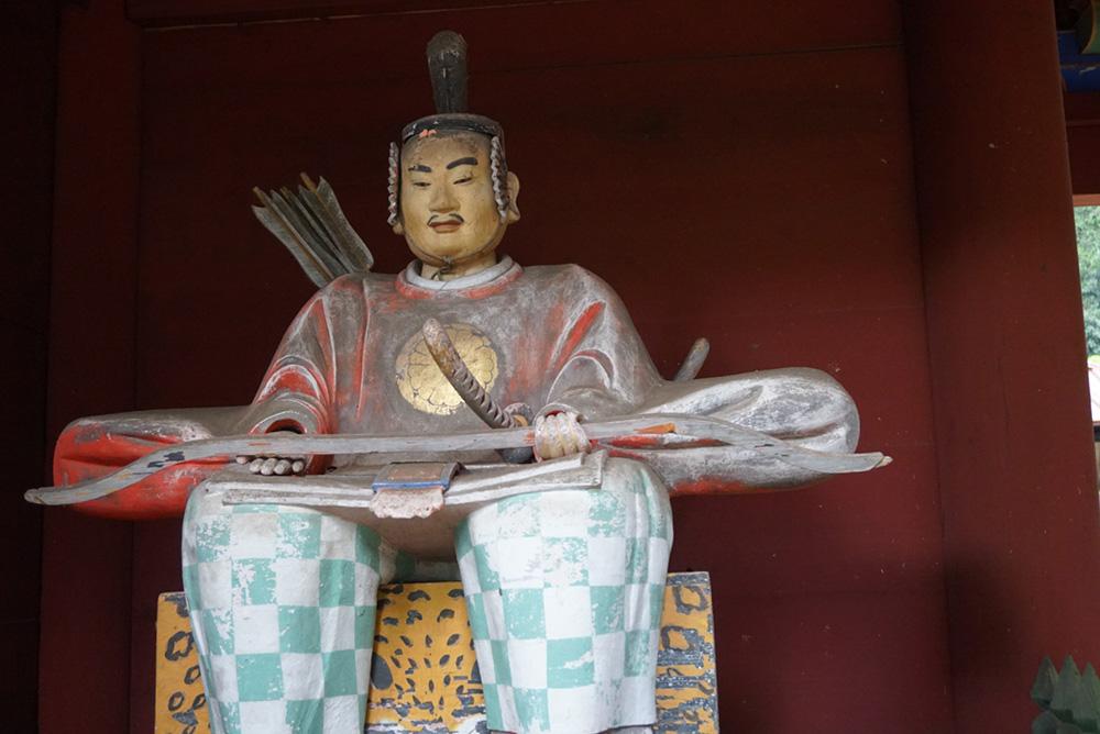 那須神社 那須与一像 大田原市 観光 栃木県
