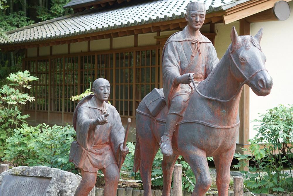 黒羽芭蕉の館 松尾芭蕉プロバンス像 栃木県大田原市 観光
