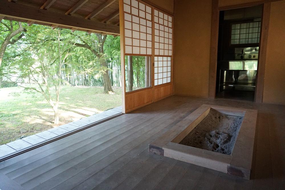 黒羽芭蕉の館 茶室 栃木県大田原市 観光