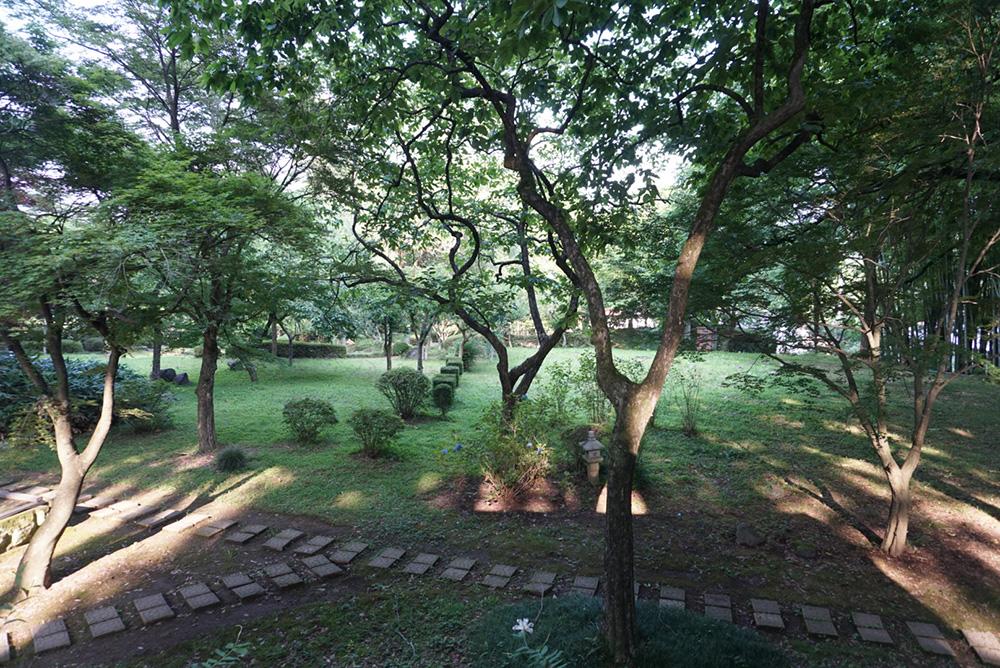 黒羽芭蕉の館 庭 栃木県大田原市 観光