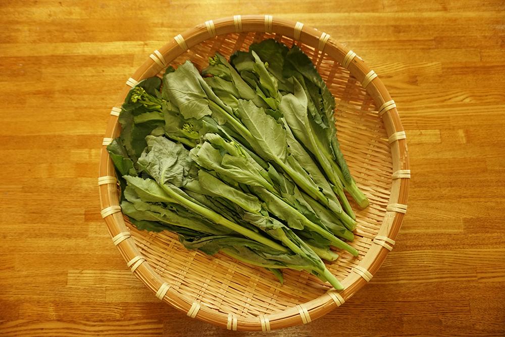 かき菜の磯香和え かき菜 レシピ とちぎのしょく 栃木