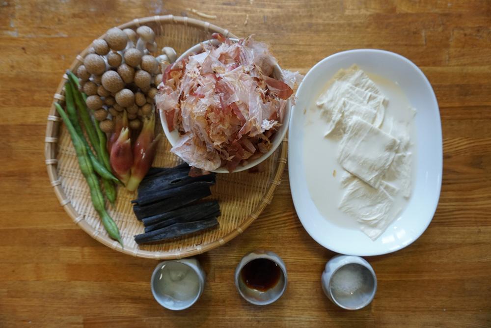ゆばのすまし汁 食材 レシピ 栃木県 とちぎのしゅし