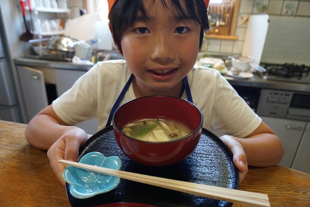 ゆばのすまし汁 完成! レシピ 栃木県 とちぎのしゅし