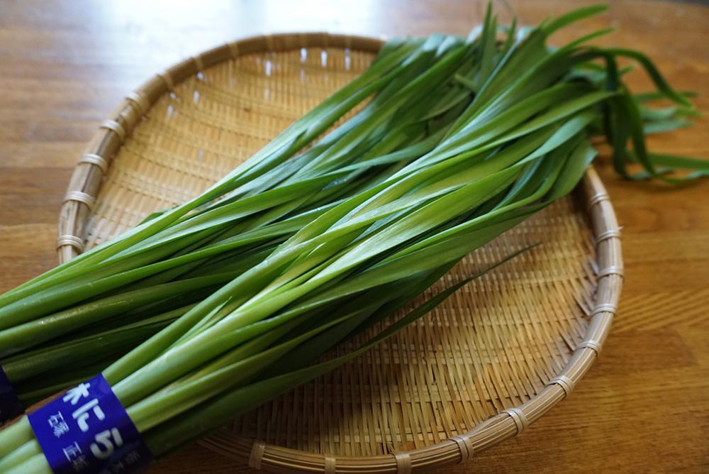 にらのナムル にら レシピ 栃木県 郷土料理
