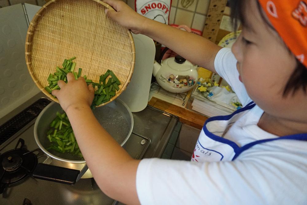 にらのナムル ゆでる レシピ 栃木県 郷土料理