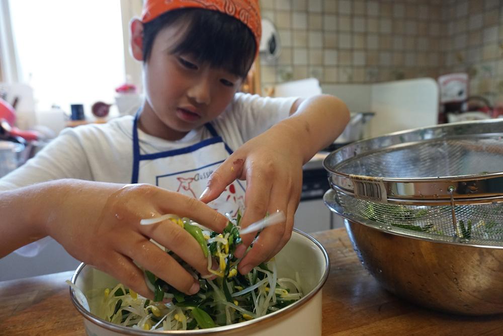 にらのナムル 野菜を冷やす レシピ 栃木県 郷土料理
