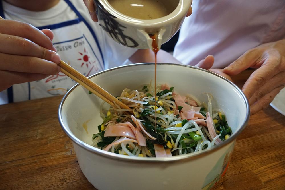 にらのナムル あえる レシピ 栃木県 郷土料理