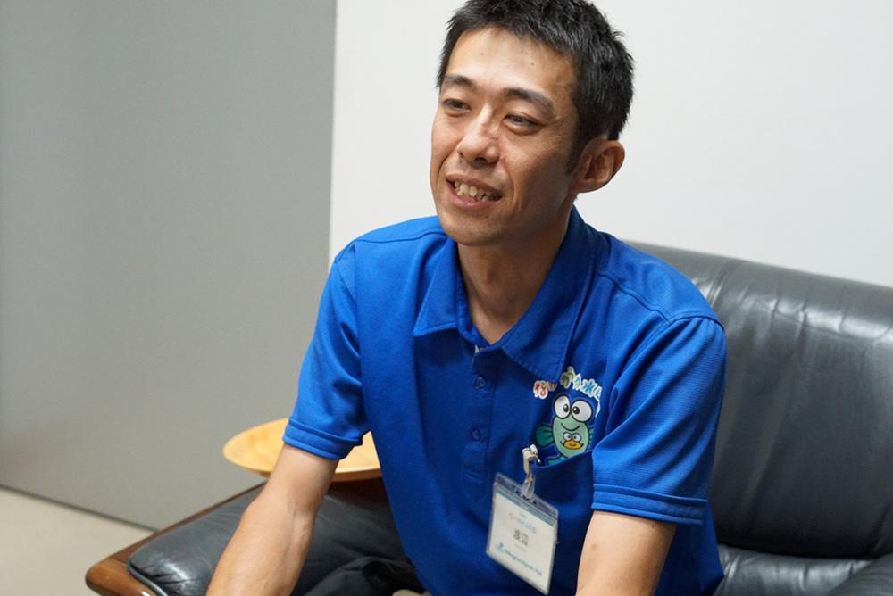 渡辺敬晴 水族館 なかがわ水遊園 飼育責任者 tochigi gene