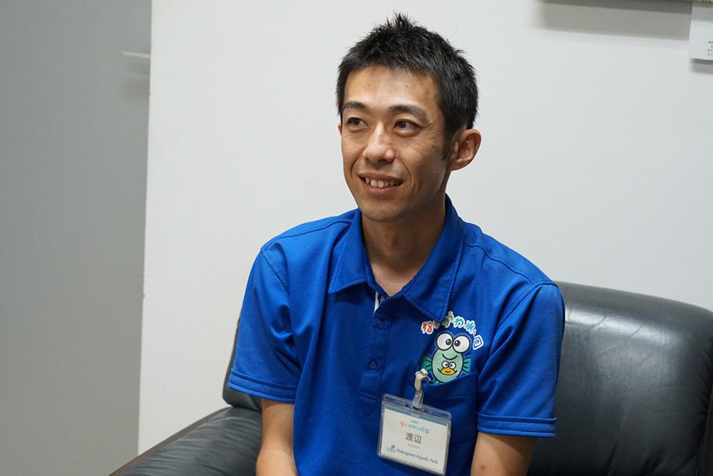 渡辺敬晴 1 なかがわ水遊園 飼育責任者 tochigi gene