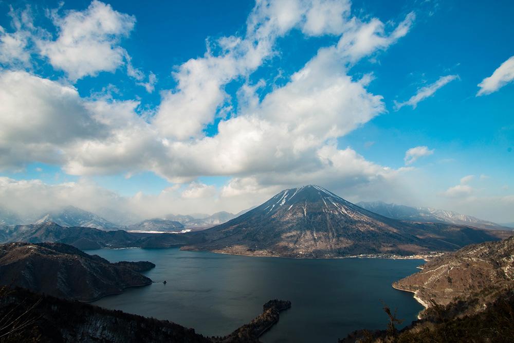 男体山 奥日光 中禅寺湖 栃木県