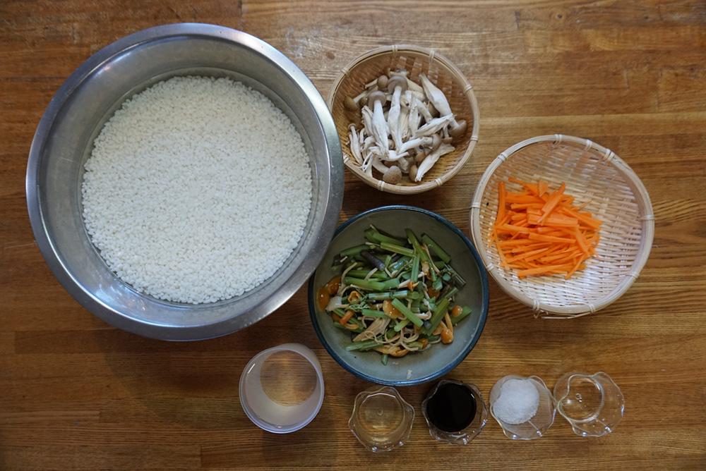 山菜おこわ 食材 レシピ 栃木県 郷土料理