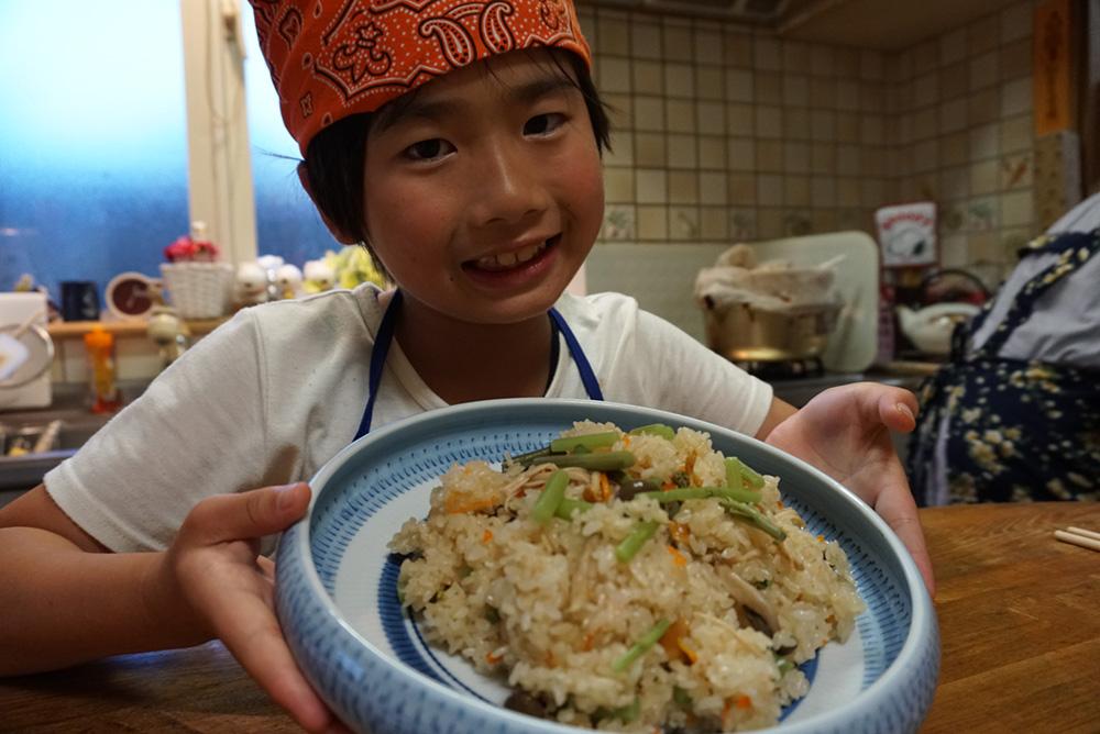 山菜おこわ できた! レシピ 栃木県 郷土料理