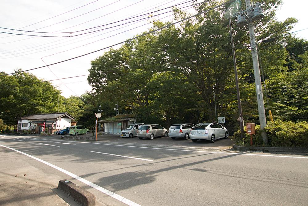 駐車場 龍門の滝 那須烏山市 栃木県 観光