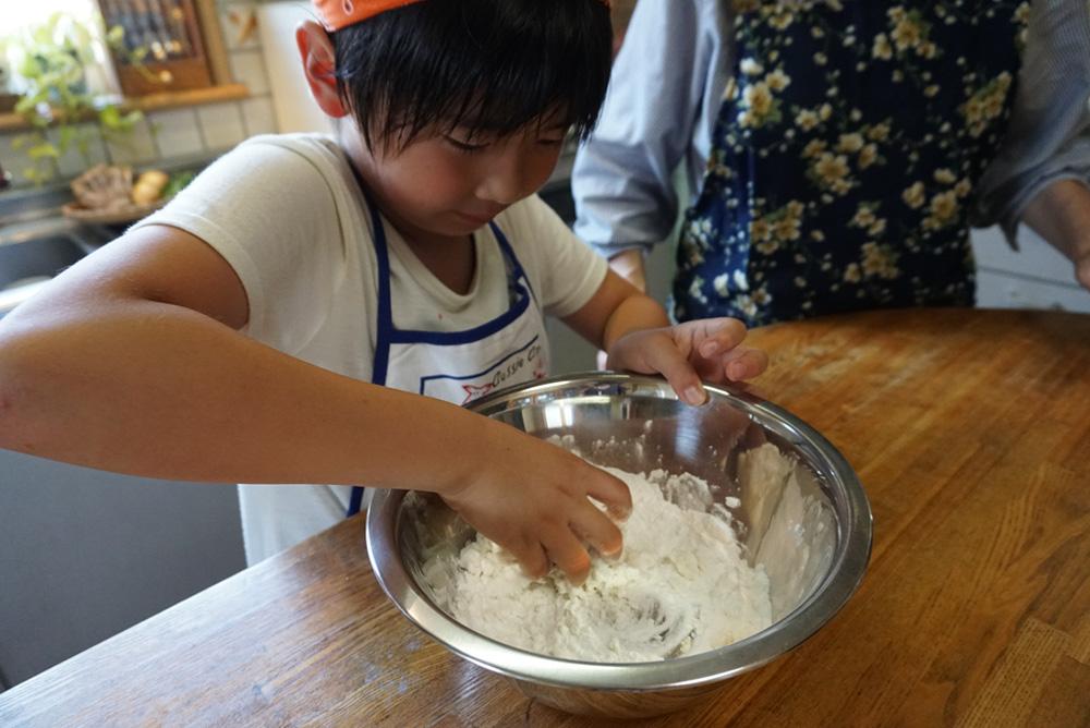 生地をつくる 米粉ピザ レシピ 栃木県 郷土料理