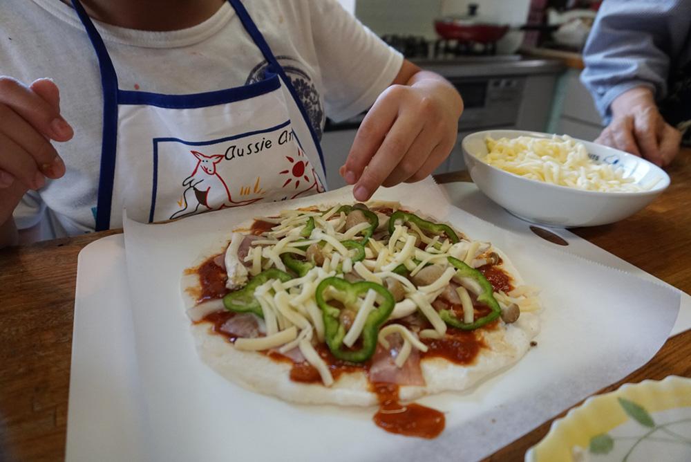 チーズを乗せる 米粉ピザ レシピ 栃木県 郷土料理