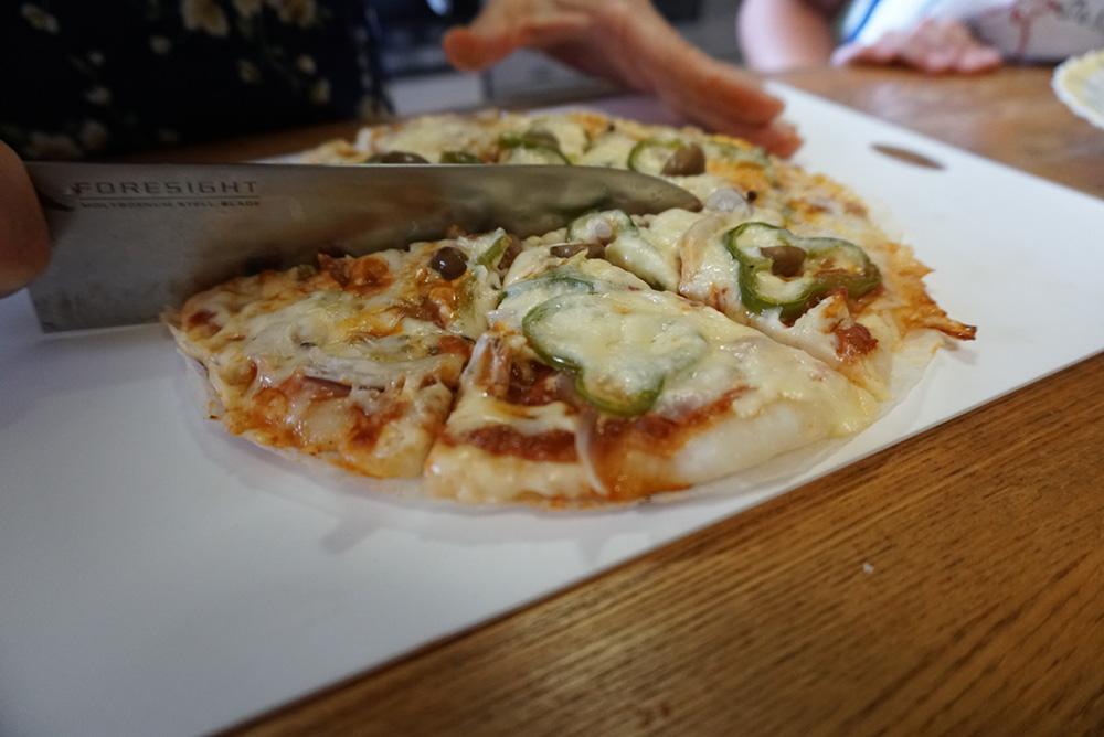 ピザをきる レシピ 栃木県 郷土料理
