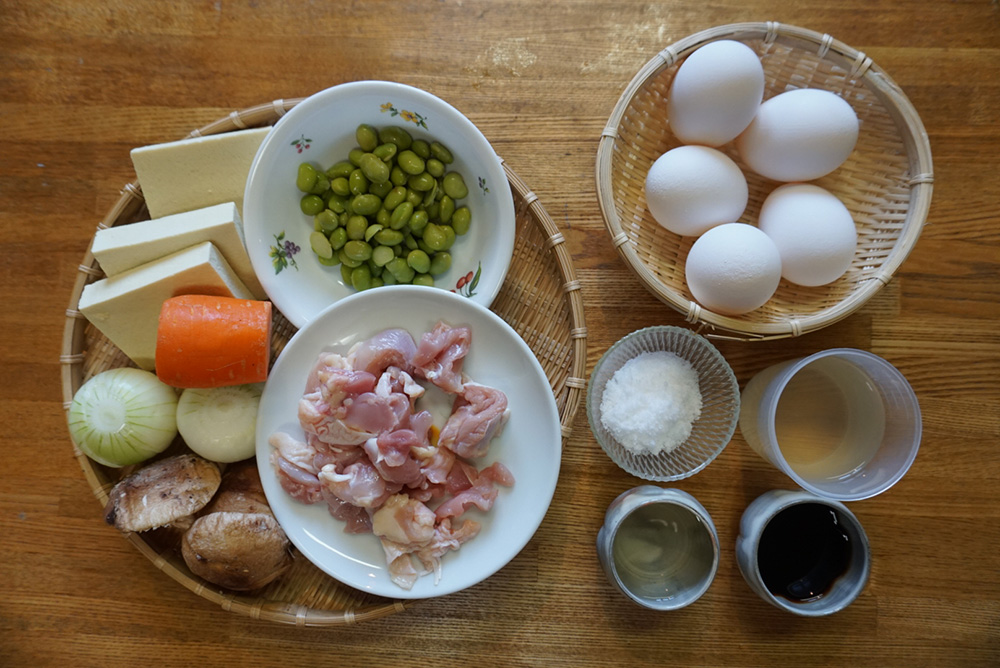 食材 親子煮 レシピ 栃木県 郷土料理