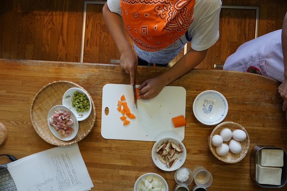 野菜を切る 親子煮 レシピ 栃木県 郷土料理