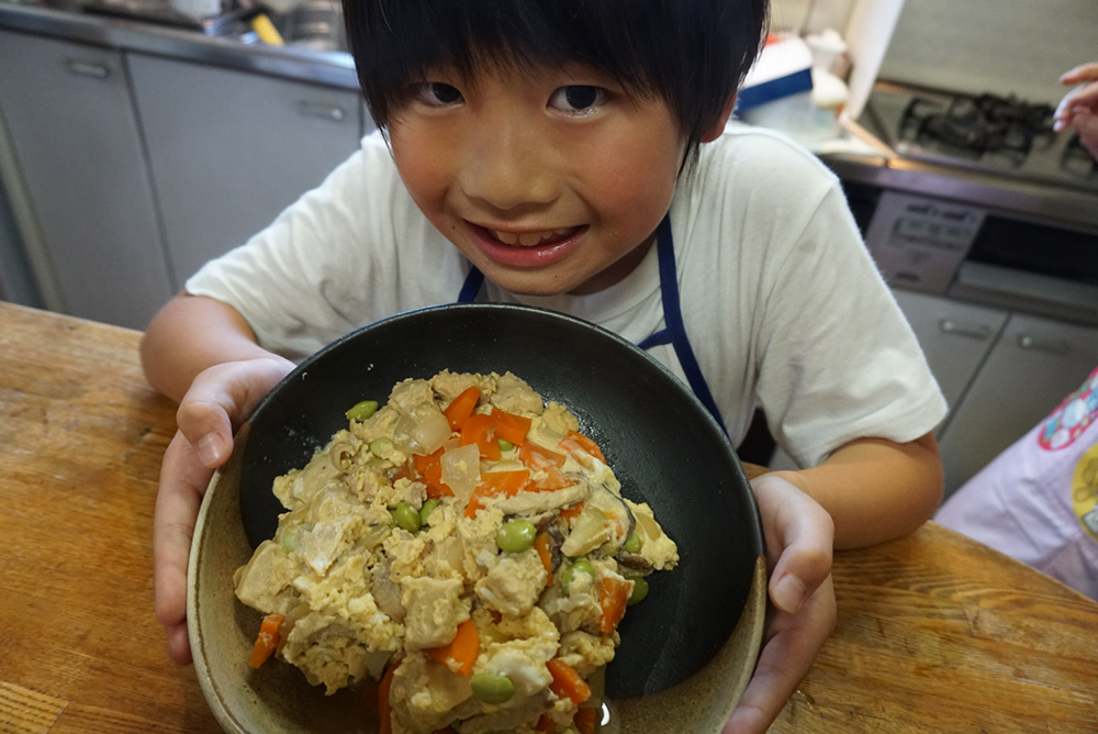 完成!! 親子煮 レシピ 栃木県 郷土料理