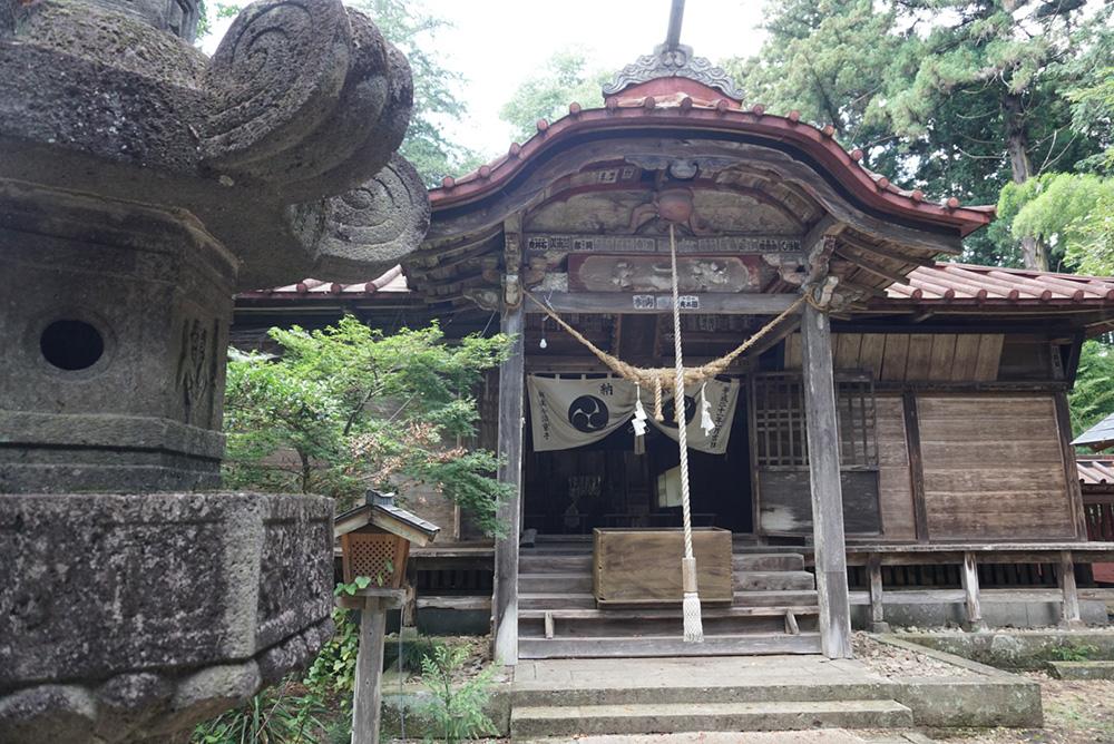 那須神社 神殿 大田原市 観光 栃木県