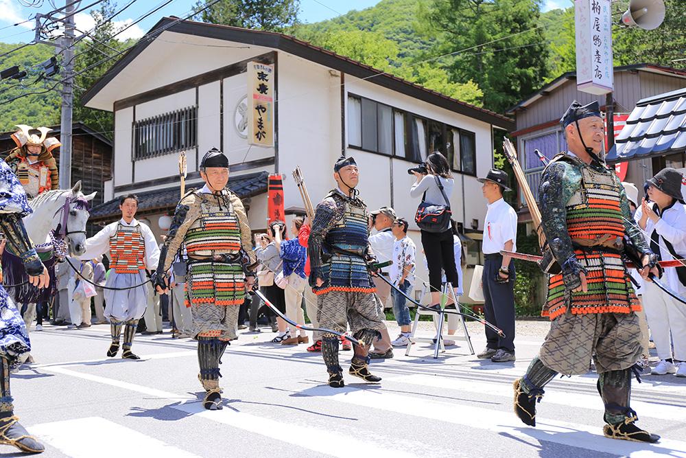 平家大祭 甲冑 湯西川温泉かまくら祭り(日光市) 栃木県 とちぎのしゅし