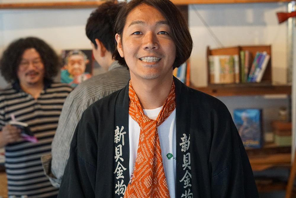 徳谷柿次郎 店内 「やってこ!シンカイ」長野県長野市 とちぎのしゅし