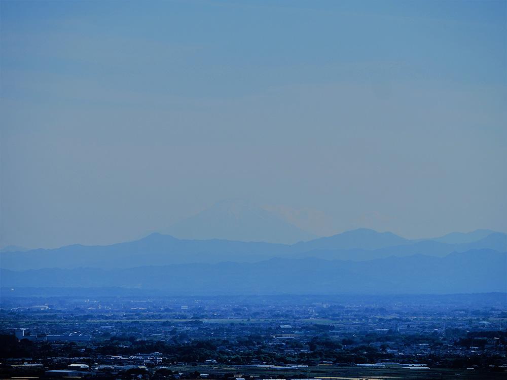 冨士山が見える 三毳山 登山 トレッキング 栃木市 佐野市 とちぎのしゅし