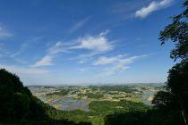 パラグライダー 発射台 三毳山 登山 トレッキング 栃木市 佐野市 とちぎのしゅし