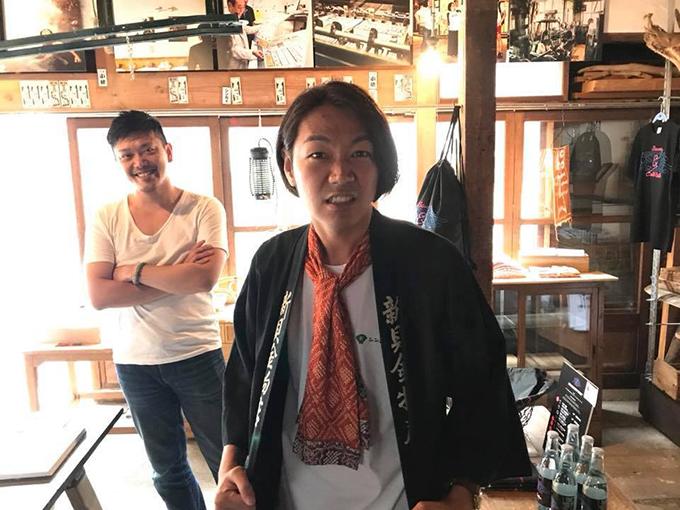 柿次郎×石川「やってこ!シンカイ」長野県長野市 とちぎのしゅし