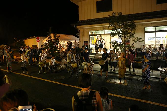 DJEBE NUTS(ジェベナッツ)によるアフリカン音楽 益子夜市 栃木県益子町 とちぎのしゅし