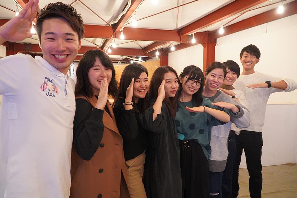 主催の宇都宮大学メンバー よんなな栃木会 栃木市 とちぎのしゅし