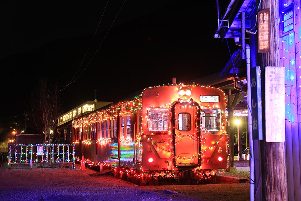 イルミネーション・電車・日光市・足尾銅山観光・とちぎのしゅし
