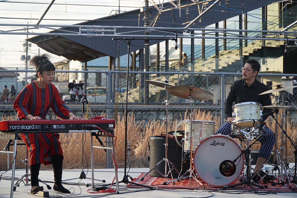 ライブ風景②高根沢町・TAKANEZAWA ROCKSIDE MARKET・とちぎのしゅし