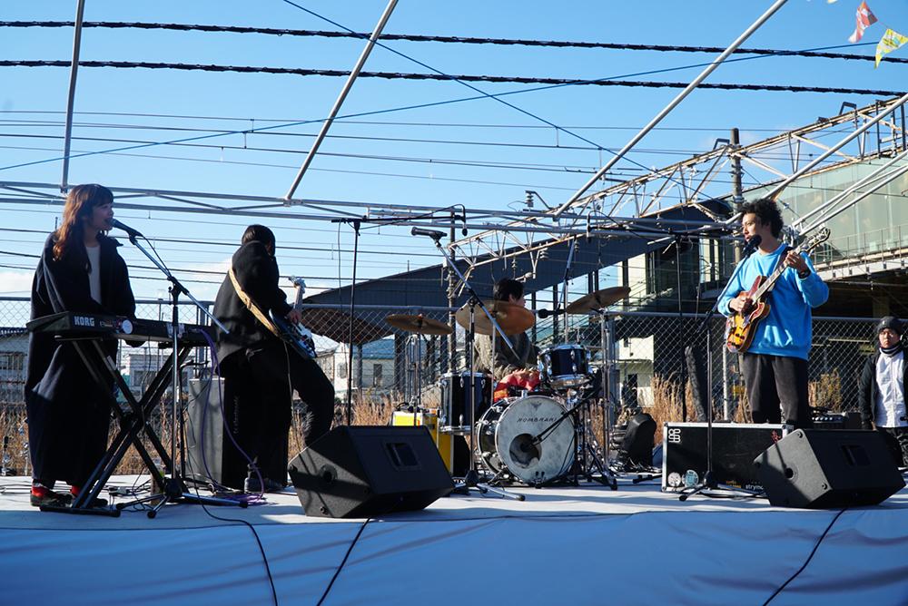 ライブ風景①・高根沢町・TAKANEZAWA ROCKSIDE MARKET・とちぎのしゅし
