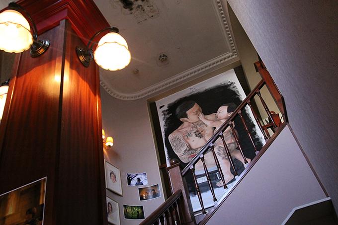 宇都宮市・階段・ReSET・アート・とちぎのしゅし