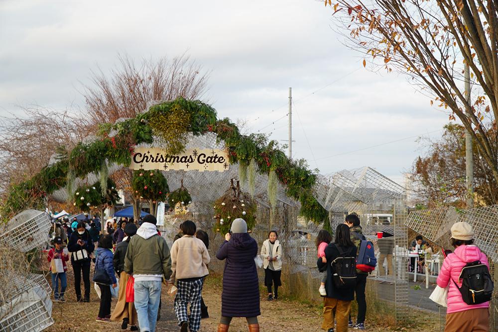 クリスマスゲート・高根沢町・TAKANEZAWA ROCKSIDE MARKET・とちぎのしゅし